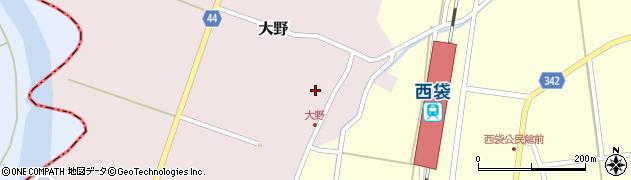 山形県東田川郡庄内町大野太農33周辺の地図