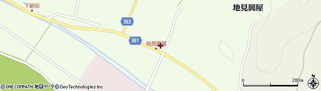 山形県酒田市地見興屋村東33周辺の地図