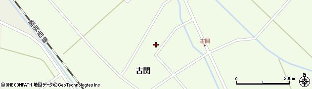 山形県東田川郡庄内町古関古館156周辺の地図