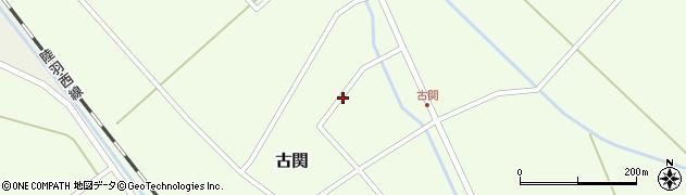 山形県東田川郡庄内町古関古館118周辺の地図