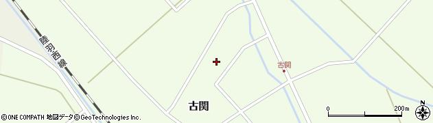 山形県東田川郡庄内町古関古館153周辺の地図