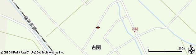 山形県東田川郡庄内町古関古館155周辺の地図