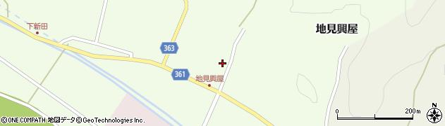 山形県酒田市地見興屋村東38周辺の地図