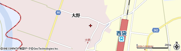 山形県東田川郡庄内町大野太農45周辺の地図