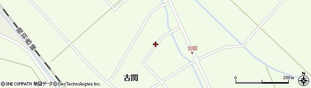 山形県東田川郡庄内町古関古館120周辺の地図