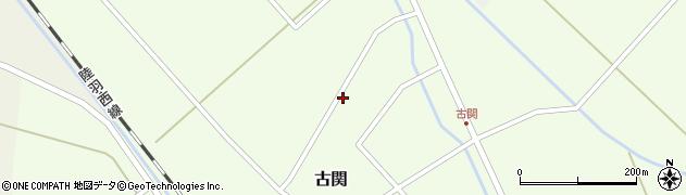山形県東田川郡庄内町古関古館154周辺の地図