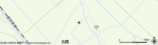 山形県東田川郡庄内町古関古館23周辺の地図