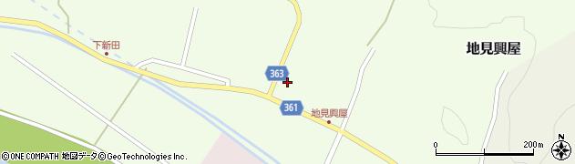 山形県酒田市地見興屋前割9周辺の地図