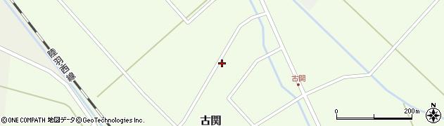 山形県東田川郡庄内町古関古館151周辺の地図
