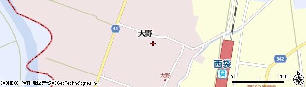 山形県東田川郡庄内町大野前田周辺の地図