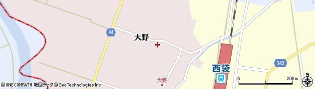 山形県東田川郡庄内町大野太農41周辺の地図