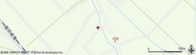 山形県東田川郡庄内町古関古館24周辺の地図