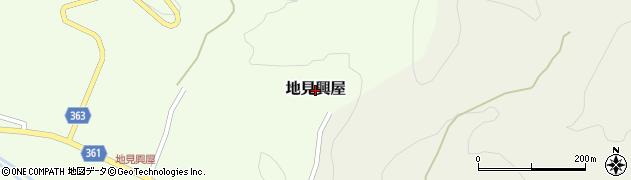 山形県酒田市地見興屋周辺の地図