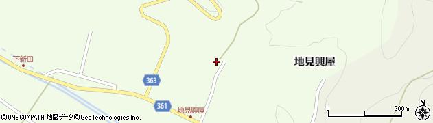 山形県酒田市地見興屋村東55周辺の地図