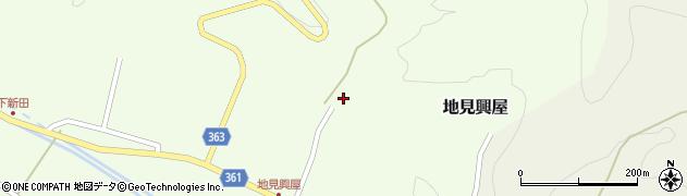山形県酒田市地見興屋村東50周辺の地図
