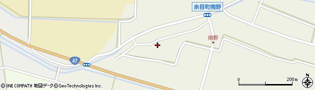 山形県東田川郡庄内町南野南浦129周辺の地図