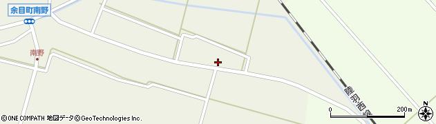 山形県東田川郡庄内町南野北浦2周辺の地図
