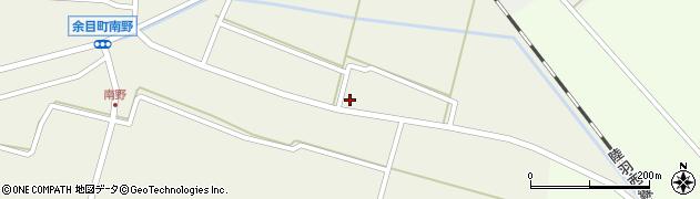 山形県東田川郡庄内町南野北浦10周辺の地図