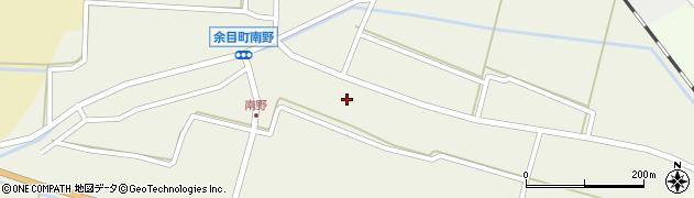 山形県東田川郡庄内町南野南浦54周辺の地図
