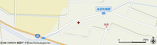 山形県東田川郡庄内町南野南浦128周辺の地図