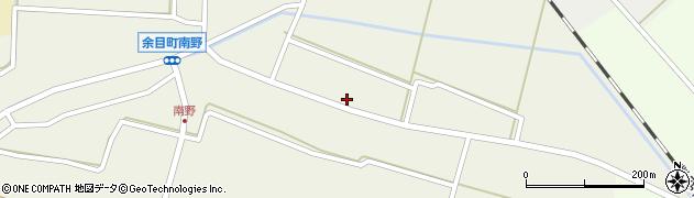 山形県東田川郡庄内町南野北浦24周辺の地図