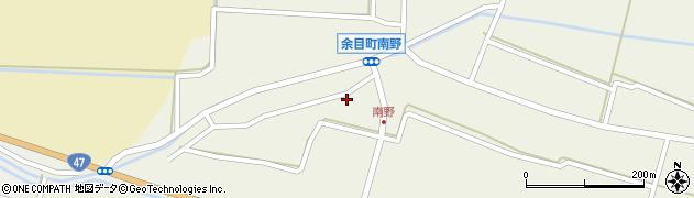 山形県東田川郡庄内町南野南浦108周辺の地図
