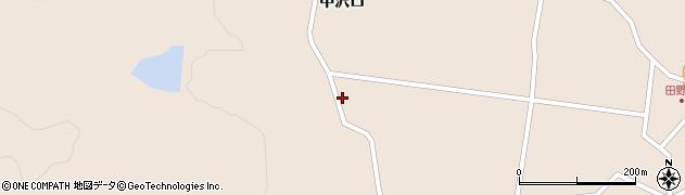 宮城県大崎市鳴子温泉鬼首(田ノ沢)周辺の地図