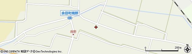 山形県東田川郡庄内町南野南浦59周辺の地図