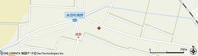 山形県東田川郡庄内町南野南浦60周辺の地図