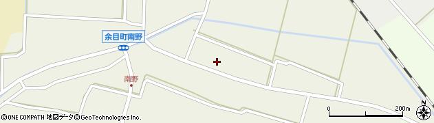山形県東田川郡庄内町南野北浦29周辺の地図