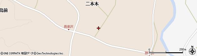 宮城県栗原市栗駒猿飛来二本木前周辺の地図