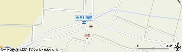 山形県東田川郡庄内町南野南浦91周辺の地図