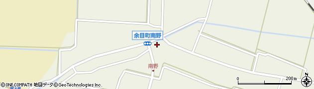 山形県東田川郡庄内町南野南浦89周辺の地図
