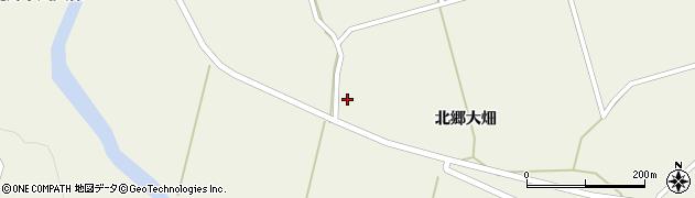 宮城県栗原市鶯沢北郷大畑1周辺の地図