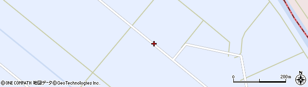 山形県鶴岡市長沼九枚田周辺の地図