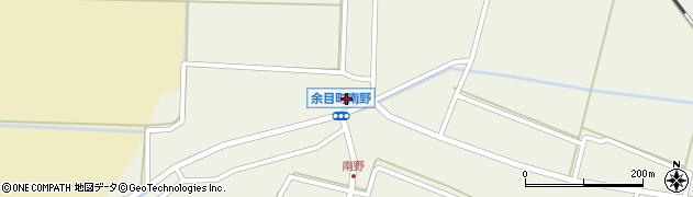 山形県東田川郡庄内町南野西野周辺の地図