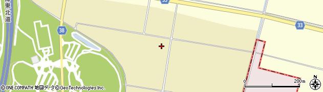 山形県酒田市浜中出崎周辺の地図