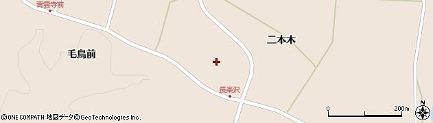 宮城県栗原市栗駒猿飛来二本木周辺の地図