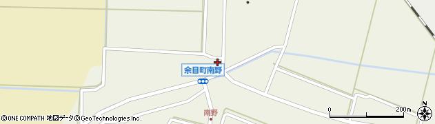 山形県東田川郡庄内町南野西野44周辺の地図