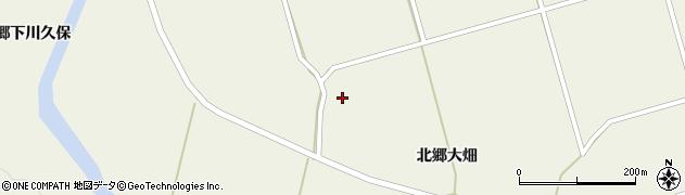 宮城県栗原市鶯沢北郷大畑2周辺の地図