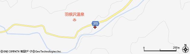 山形県最上郡鮭川村中渡1315周辺の地図