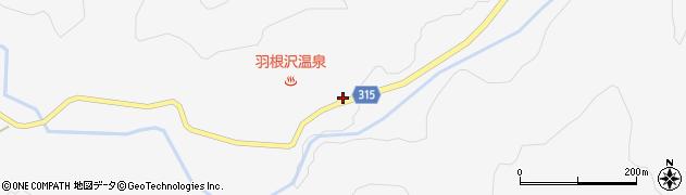 山形県最上郡鮭川村中渡1316周辺の地図