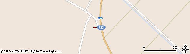 岩手県一関市花泉町涌津五輪堂周辺の地図