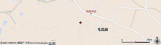 青雲寺周辺の地図