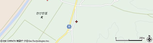 山形県最上郡鮭川村京塚1363周辺の地図