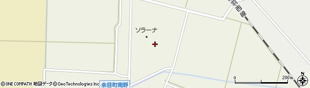 山形県東田川郡庄内町南野北野100周辺の地図