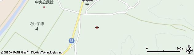 山形県最上郡鮭川村京塚1131周辺の地図