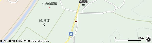 山形県最上郡鮭川村京塚1170周辺の地図
