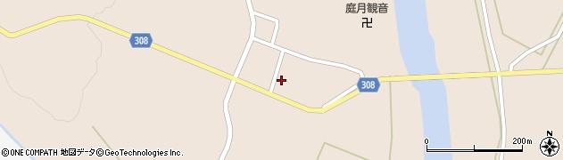 山形県最上郡鮭川村庭月2955周辺の地図