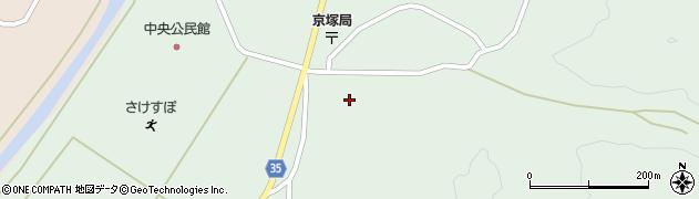 山形県最上郡鮭川村京塚1143周辺の地図